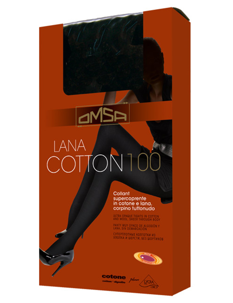 Колготки OMSA Lana Cotton 100