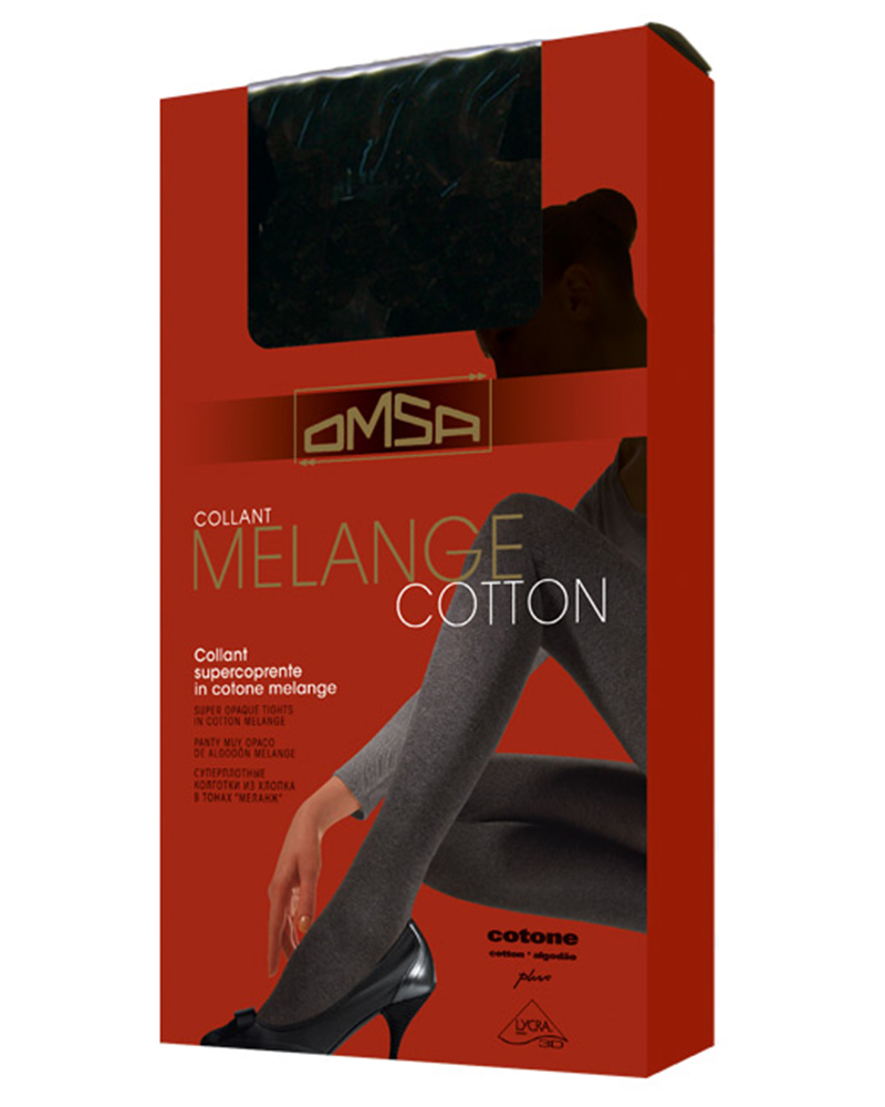 Колготки OMSA Melange Cotton
