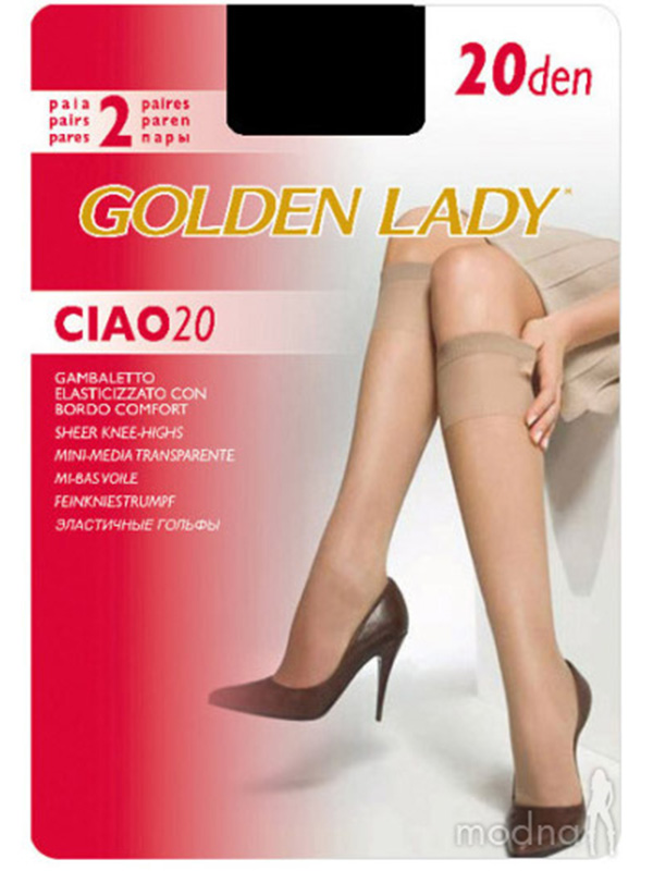 GOLDEN LADY гольфы Ciao 20